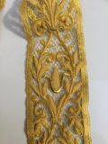 Stola ricamata rete oro 16