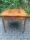 Tavolo quadrato intarsiato con scacchiera 20