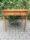 Tavolo quadrato intarsiato con scacchiera 24