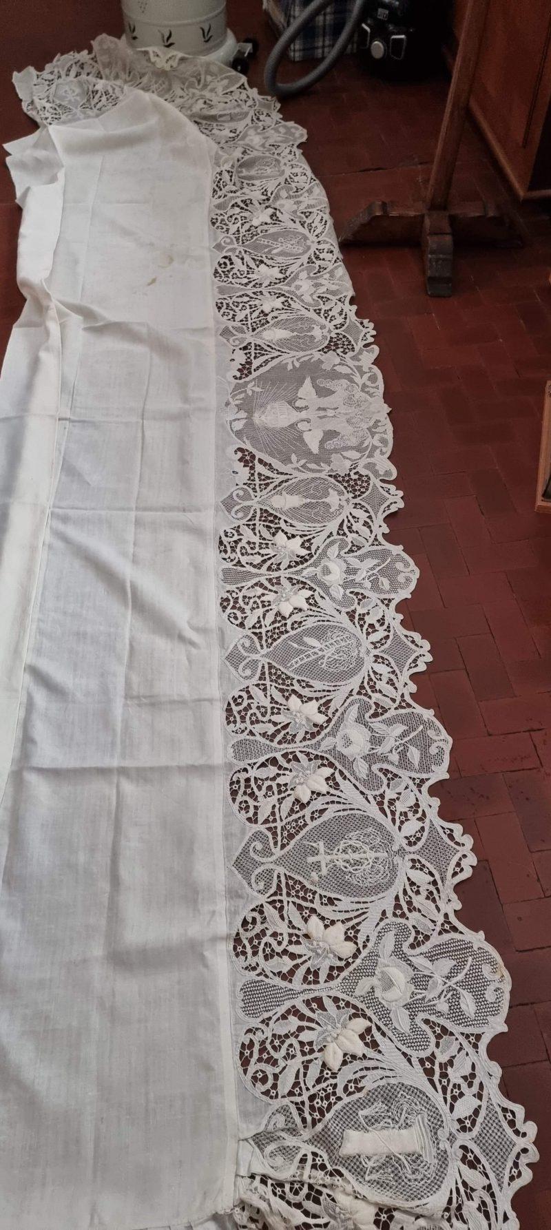 Tovaglia completa di copri balaustra 7